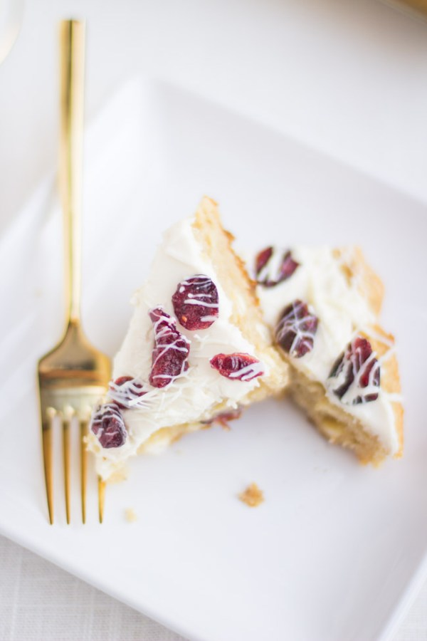 AMAZING gluten-free cranberry bliss bars. Delicious flourless cranberry bliss bars that are easy to make!
