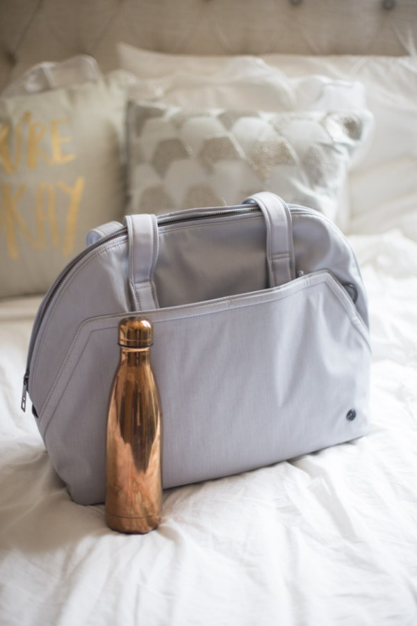 How to Pack Your Gym Bag when you're crazy busy - tips and must-haves for on the go!