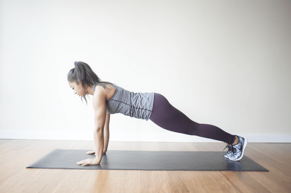 Strengthen your core with these five plank variations!