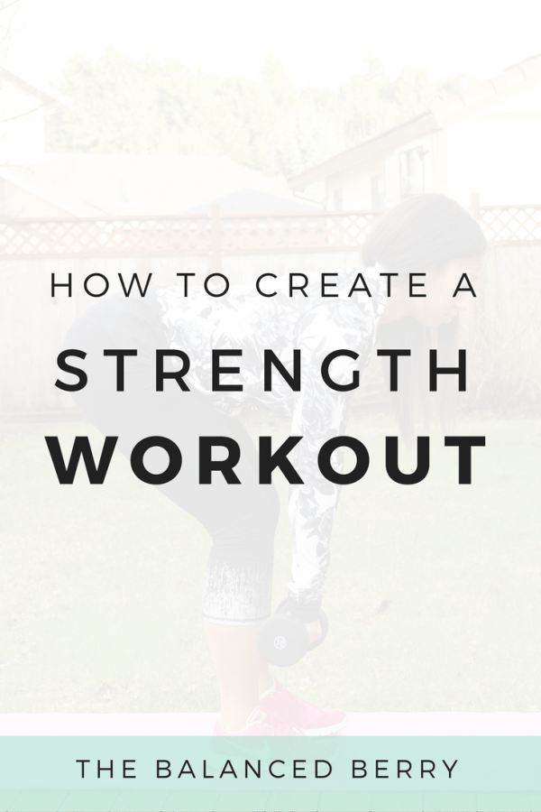 How to Create a Strength Workout   Simple moves to create a balanced, full-body routine