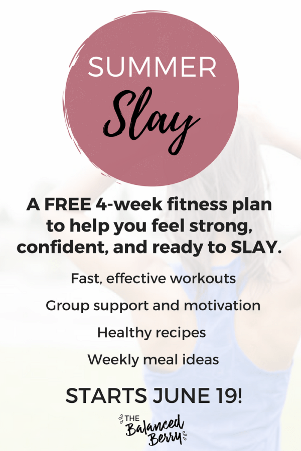 A FREE 4-week fitness plan to help you feel strong, confident, and ready to SLAY.