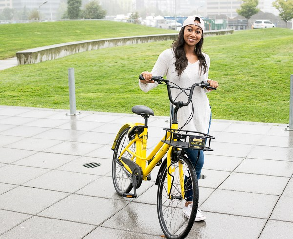 Seattle Favorites: ofo Station-Free Biking