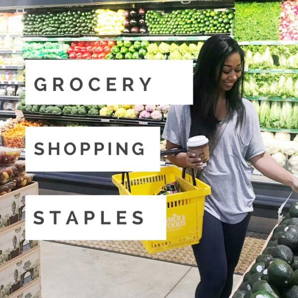 What's in my Cart: Weekly Grocery Staples (+ Grocery List and Meal Planning Template!)