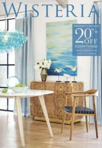 Request a Free Grandin Road Catalog Request a Free Wisteria Home Decor Catalog