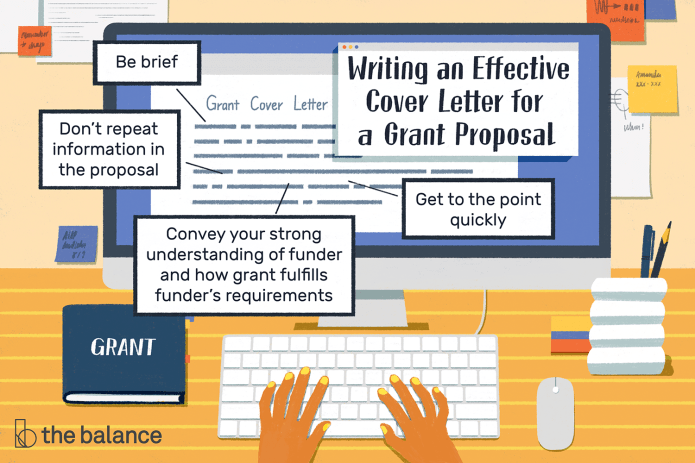 How To Write An Effective Grant Proposal Cover Letter