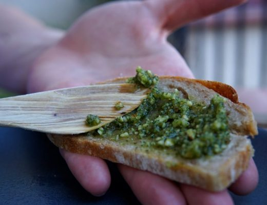 Almond Cashew Pesto