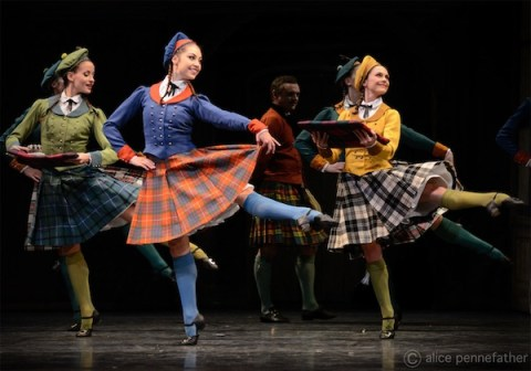 Leticia Stock, Leanne Cope and Iohna Loots in La Sylphide
