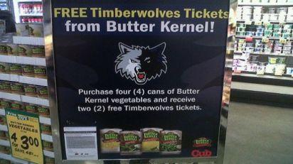 timberwolves beans