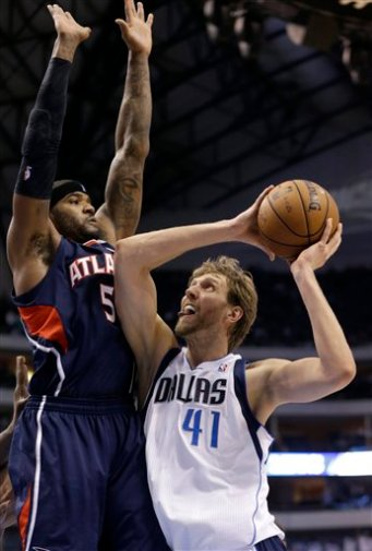 Dirk Nowitzki,  Josh Smith