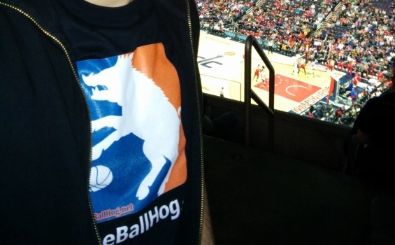 Ballhog T-shirt @ Hawks-Wizards