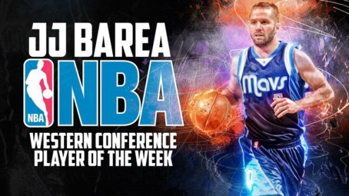 JJ Barea Player of the week