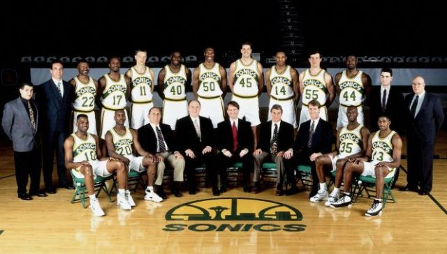93-94 Seattle Supersonics
