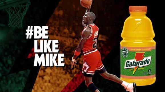 Be Like Mike Gatorade Ad