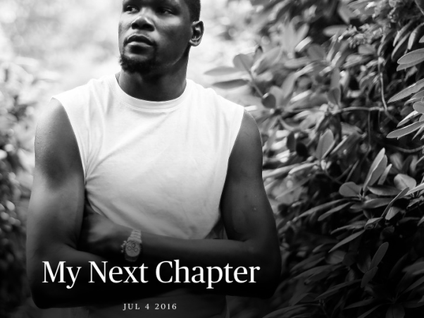 KD on The Players' Tribune: My Next Chapter