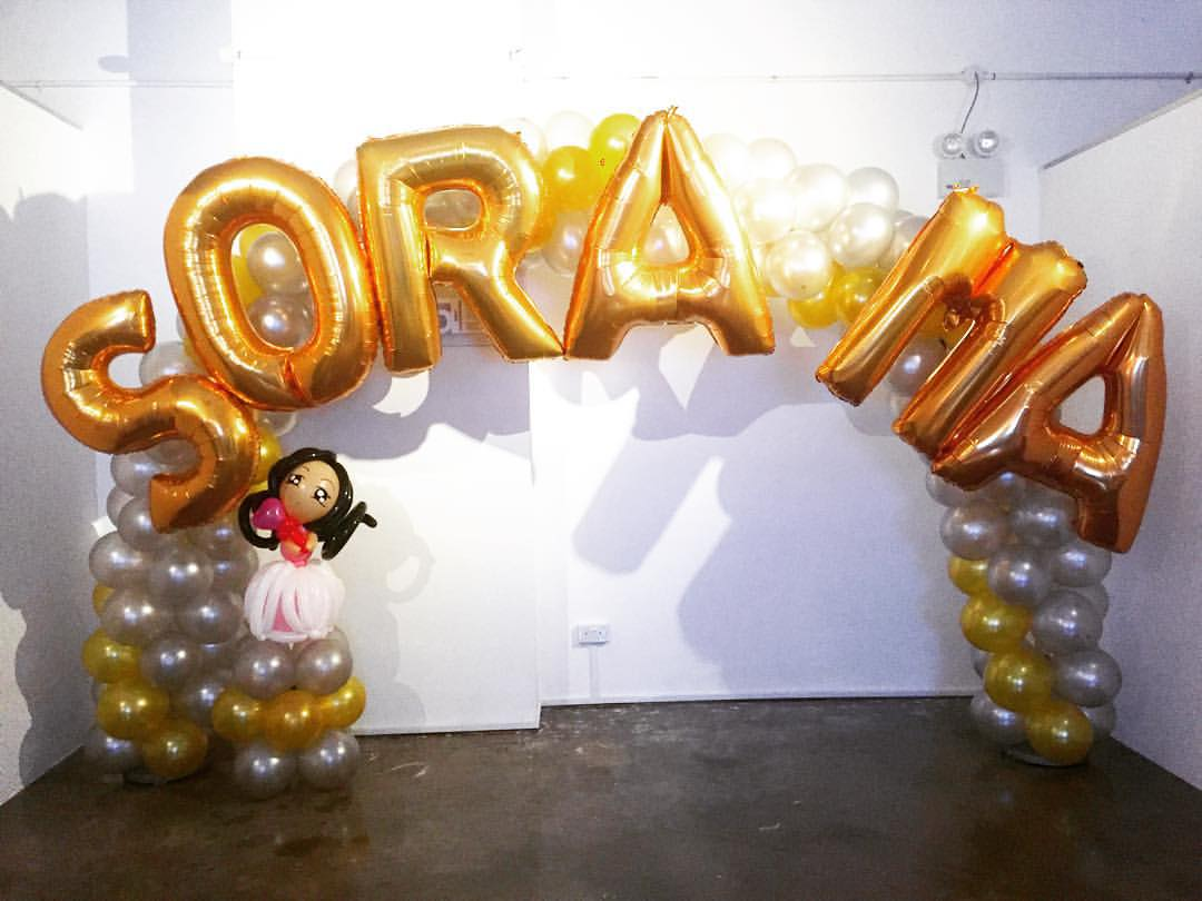 Premium balloon arch decorations in singapore for Balloon decoration for kids