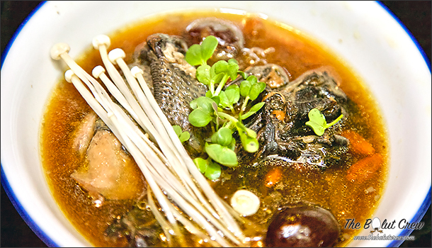 Chinese Black Chicken Herbal Soup