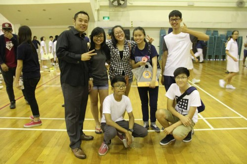Supporters from the Pasir Ris Concert Band / credits: Faizal Othman