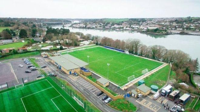 Image result for nantporth stadium bangor