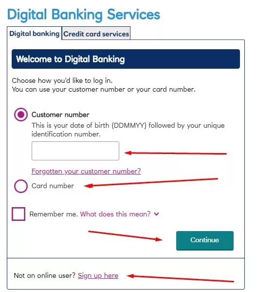 rbs digital banking registration