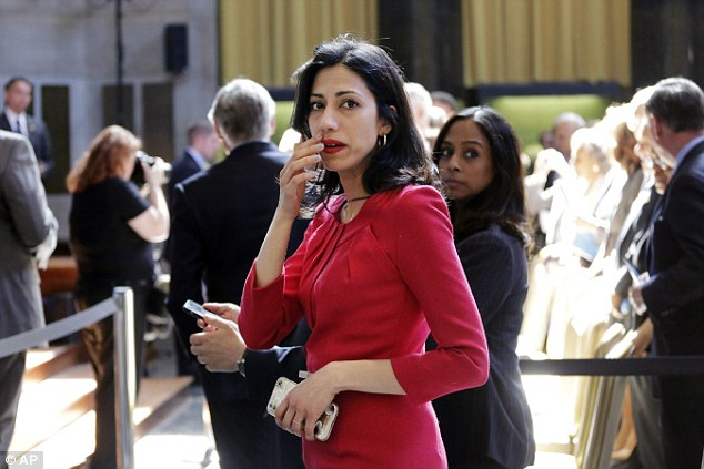 "Huma Abedin: ""Muslim Faith Helped Me Hold On To My Weiner"""