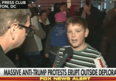 """Young Boy Disses Obama on Last Night, Shouting """"Screw Our President!"""" on Live TV"""