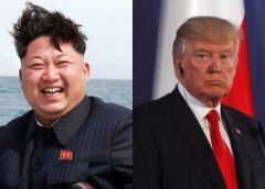 Trump Plans to Conquer Kim With Hooters, Zingers at Nuke Summit