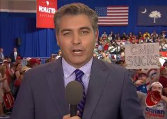 CNN: Acosta Dodged Sniper Fire, IED's At Trump Rally