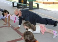 Push-Up Joe Wants Presidency Decided By Pectoral College