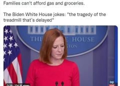 WH: Supply Chain Crisis Due To Americans' Stockpiling Ahead Of Our Next Big Blunder