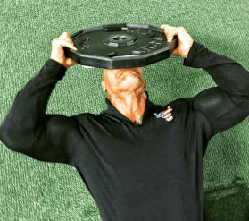 The Rock neck raise