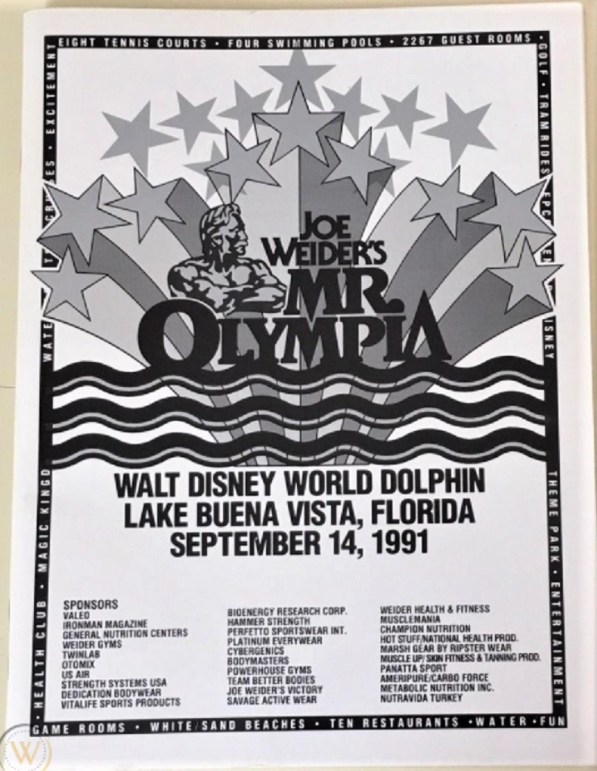 1991 Mr. Olympia