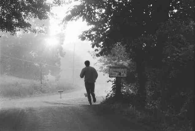 Ali running 1974