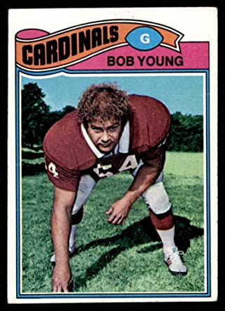 Bob Young football card