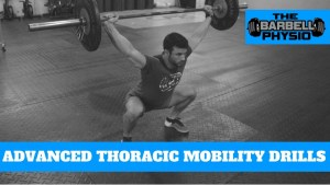 Thoracic mobility drills