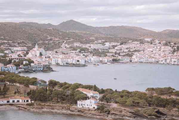 Views of Cadaques from Cala Nans lighthouse