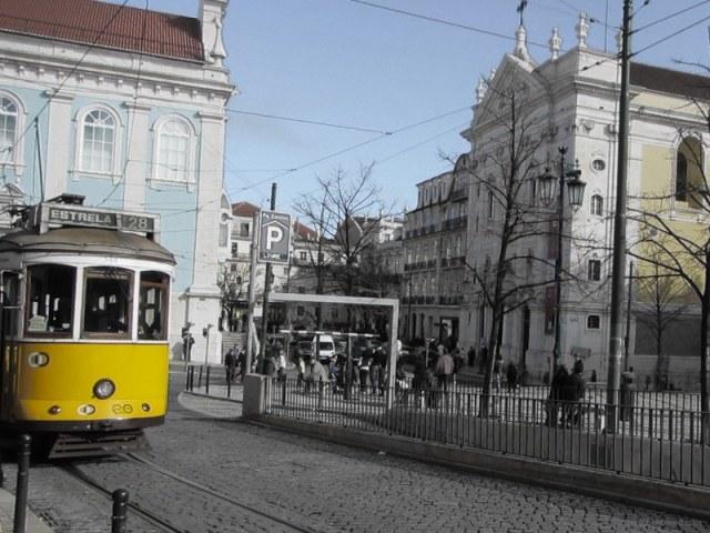 Lisbon's #28 tram