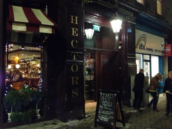 Hectors occupies prime position in Stockbridge, Edinburgh
