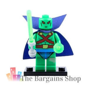 Block Minifigure Martian Manhunter