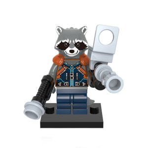 Block Minifigure Rocket Raccoon