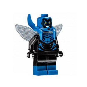 Block Minifigure Blue Beetle
