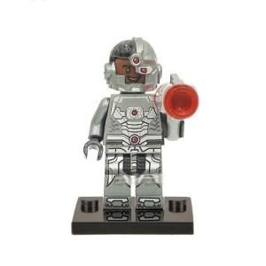 Block Minifigure Cyborg