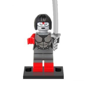Block Minifigure Katana