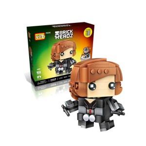 Mini Brick Heroes Black Widow