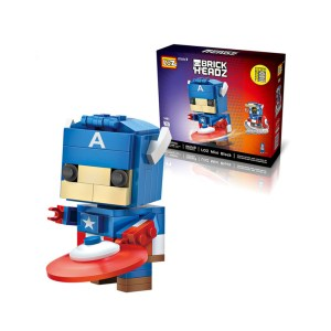Mini Brick Heroes Captain A