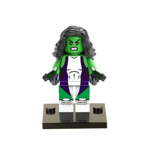 Block Minifigure She-Hulk