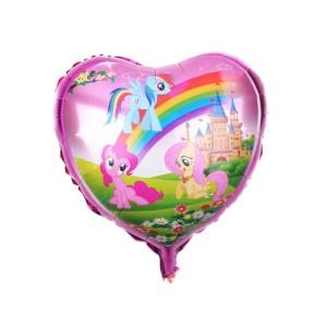 Heart Foil Balloon My Little Pony