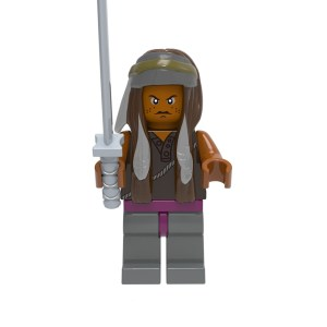 Block Minifigure Michonne
