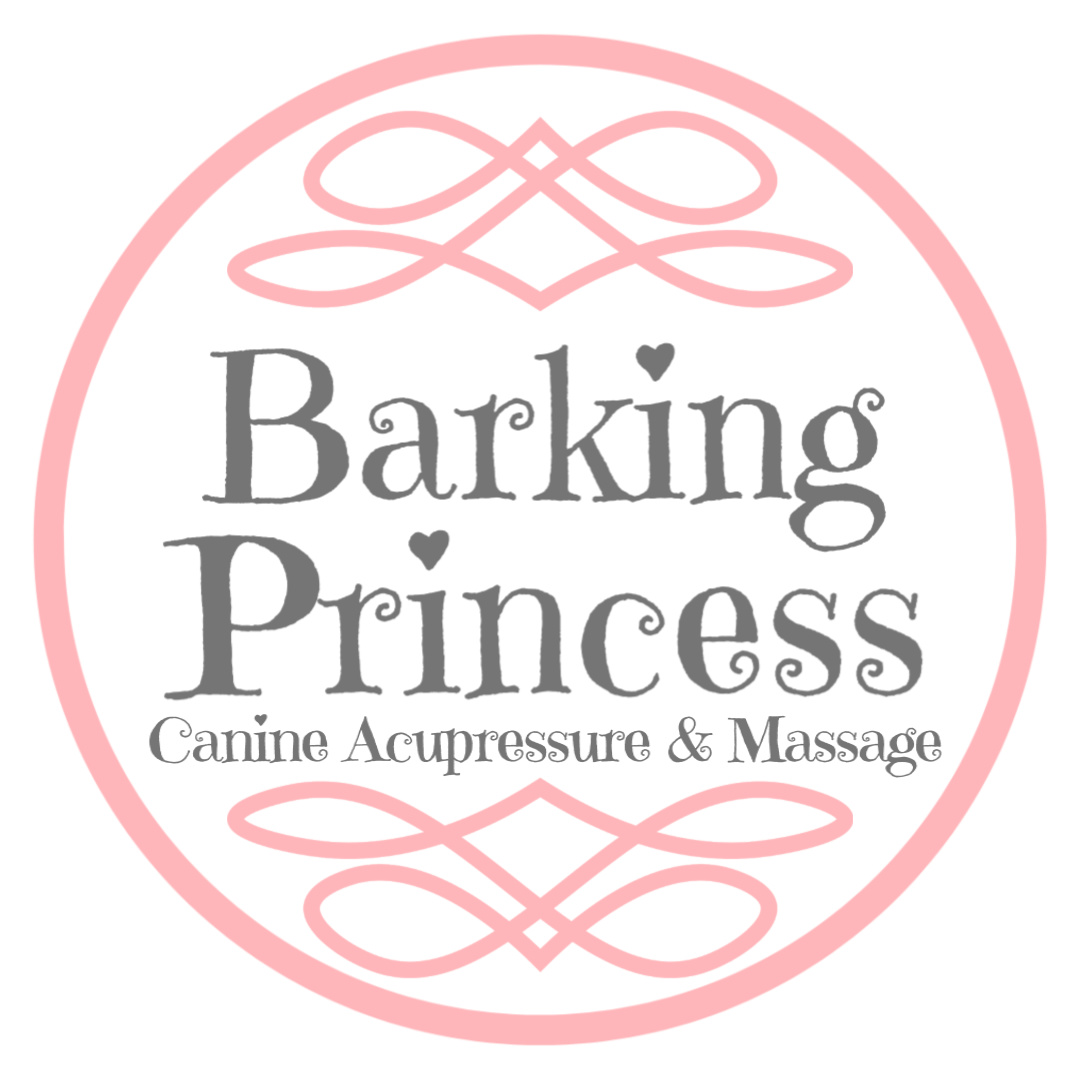 Barking Princess Canine Acupressure and Massage Logo