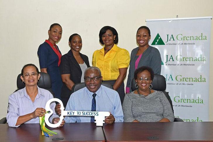 Grenlec Team with JA Board Members