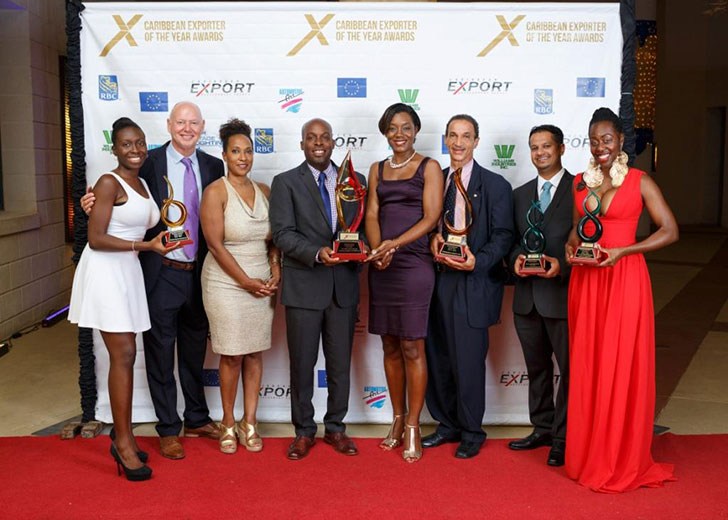 Caribbean Exporter of the Year Winners